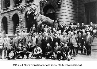 I Soci Fondatori del Lions Club International
